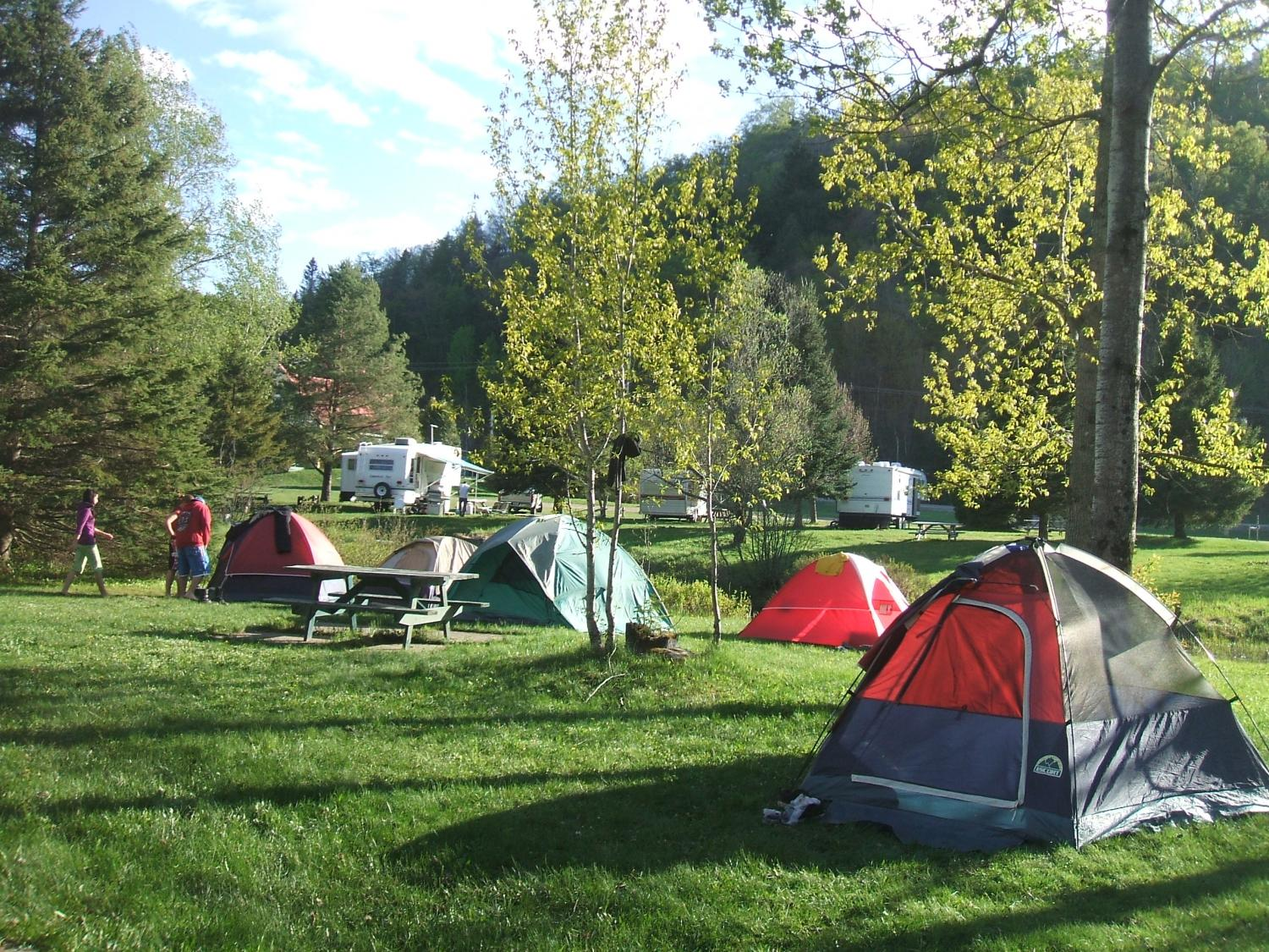 camping excursions jacques cartier